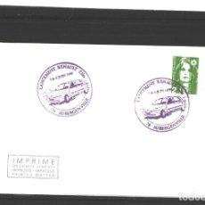 Sellos: FRANCIA 1990 - LANCEMENT RENAULT CLIO - AUBERGENVILLE. Lote 127183779