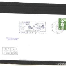 Sellos: FRANCIA 1990 - LE MANS F-3000 - LE MANS . Lote 127184231
