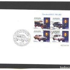 Sellos: ESPAÑA 2003 - CIEN AÑOS DE RACE - BARCELONA. Lote 130083535