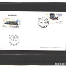 Sellos: ESPAÑA 2001 - CARTA CON SELLO PEUGEOT BEBE - SOBRE ABIERTO . Lote 130083683