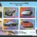 Sellos: REPUBLICA DE SENEGAL 1999 40 ANIVERSARIO DE DE TOMASO. Lote 132393986