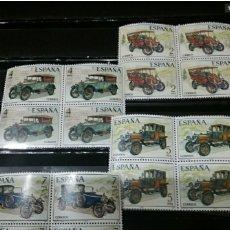 Sellos: SELLOS DE ESPAÑA NUEVOS. 1977. EDF: 2409-12/COCHES/AUTOMOVILES/ANTIGUOS/TRANSPORTE/ESPAÑOLES/CLASICO. Lote 133864618