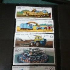 Sellos: SELLOS ALEMANIA, R. D. (DDR) MTDOS/1977/AGRICULTURA/CAMION/COSECHADORA/VACAS/GANADERIA/TRACTOR/DESP. Lote 135619801
