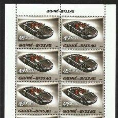 Sellos: GUINEA 2005 HOJA BLOQUE SELLOS TEMÁTICA AUTOS FERRARI- COCHES - AUTOMOVIL DEPORTIVO. Lote 138622754