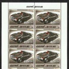 Sellos: GUINEA 2005 HOJA BLOQUE SELLOS TEMÁTICA AUTOS FERRARI- COCHES - AUTOMOVIL DEPORTIVO. Lote 138626634