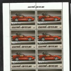 Sellos: GUINEA 2005 HOJA BLOQUE SELLOS TEMÁTICA AUTOS FERRARI- COCHES - AUTOMOVIL DEPORTIVO. Lote 138626718