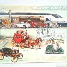 Sellos: PIONEROS DEL TRANSPORTE. Lote 138997132