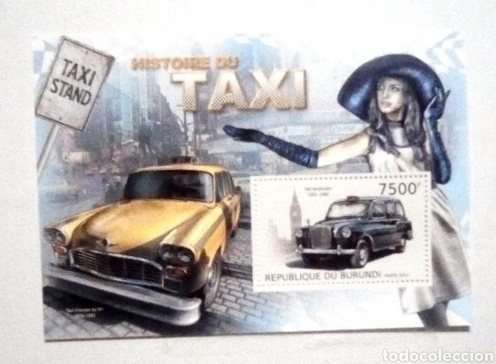 Taxis antiguos hoja bloque de sellos nuevos de - Vendido en Venta ...