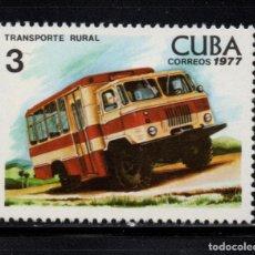 Sellos: CUBA 1992** - AÑO 1977 - TRANSPORTE RURAL. Lote 154669454