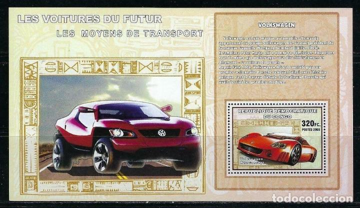 CONGO 2006 HB *** LOS COCHES DEL FUTURO - VOLKSWAGEN - AUTOMOVILES (Sellos - Temáticas - Automóviles)