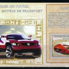 Sellos: CONGO 2006 HB *** LOS COCHES DEL FUTURO - VOLKSWAGEN - AUTOMOVILES. Lote 155840006