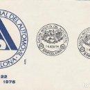 Sellos: AÑO 1975, SALON INTERNACIONAL DEL AUTOMOVIL DE BARCELONA, SOBRE DE ALFIL . Lote 159220758