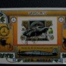 Sellos: TRANSPORTE-AUTOMOVILES-MERCEDES BENZ W196/1954/-COREA DEL NORTE-1981-BLOQUE SIN DENTAR /º/. Lote 159269926