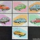 Sellos: 1997. AUTOMÓVILES. LAOS. 784 / 790. DIFERENTES MODELOS. SERIE COMPLETA. USADO.. Lote 159644950