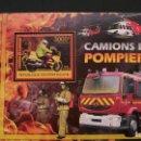 Sellos: TRANSPORTE-CAMIONES ESPECIALES-BOMBEROS-REPUBLICA CENTROAFRICANA-2012-BLOQUE**(MNH). Lote 160174474