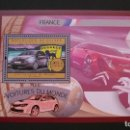 Sellos: TRANSPORTE-COCHES-PEUGEOT 301-GUINEA-2012-BLOQUE**(MNH). Lote 160177150