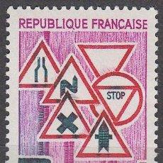 Sellos: FRANCIA IVERT 1548, PREVENCIÓN EN LA CARRETERA, SEÑALES DE TRÁFICO, NUEVO ***. Lote 170285248