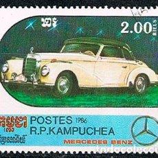 Sellos: CAMBOYA 786, MERCEDES BENZ DE 1938, USADO. Lote 176104588