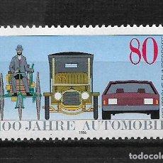 Sellos: ALEMANIA 1986 SERIE COMPLETA ** - 17/41. Lote 185687353