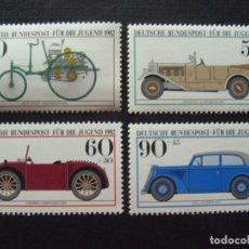 Sellos: ALEMANIA FEDERAL Nº YVERT 955/8*** AÑO 1982. AUTOMOVILES HISTORICOS DEL MUSEO DE MUNICH. Lote 189597657