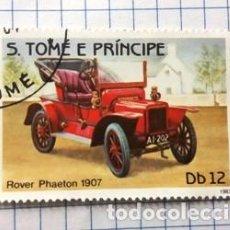 Sellos: SELLO S. TOME E PRINCIPE (ROVER PHAETON 1907). Lote 190145172
