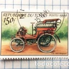 Sellos: SELLO TCHAD (FN 1900 BELGIQUE). Lote 190145222