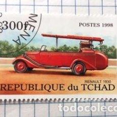 Sellos: SELLO TCHAD (RENAULT 1930). Lote 190145315