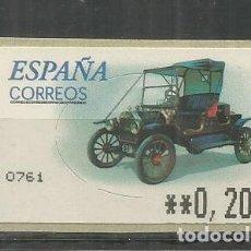 Sellos: ESPAÑA ATM FORD T AUTOMOVIL CAR . Lote 191332691
