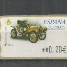 Sellos: ESPAÑA ATM AUTOMOVIL CAR DION BOUTON 3 VARIEDAD MAQUINAS. Lote 191332868