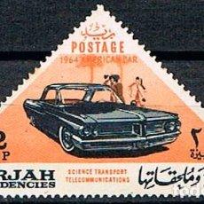 Sellos: SHARJAH (EMIRATOS ARABES) Nº 120, TRANSPORTES Y COMUNICACIONES, NUEVO CON SEÑAL DE CHARNELA. Lote 191533928