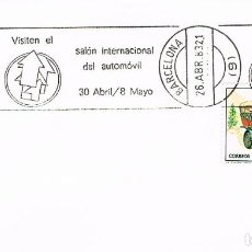 Sellos: AÑO 1983, SALON INTERNACIONAL DEL AUTOMOVIL DE BARCELONA, RODILLO. Lote 197036016