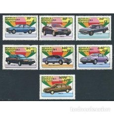 Sellos: MADAGASCAR 1992 IVERT 1137/43 *** COCHES - AUTOMOVILS. Lote 197564108