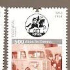 Sellos: PORTUGAL ** & 500 AÑOS DECCORRESPONDENCIA EN PORTUGAL, VEHÍCULO POSTAL 2019 (8423). Lote 198631312