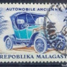 Timbres: MADAGASCAR COCHE CLÁSICO SELLO USADO. Lote 205901620