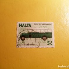 Sellos: MALTA 1996 - COCHES - TRASPORTE ESCOLAR - TRASPORT MEKKANIZZAT, STEWART TOM MIX Nº434.. Lote 207360601