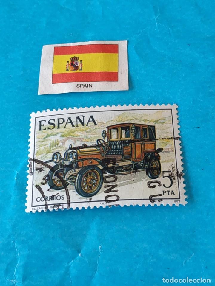ESPAÑA 1B (Sellos - Temáticas - Automóviles)