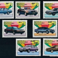 Sellos: MADAGASCAR 1992 IVERT 1137/43 *** COCHES - AUTOMOVILES. Lote 208571962