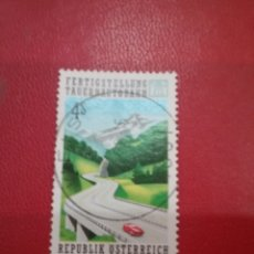 Timbres: SELLOS AUSTRIA (OSTERREICH) MTDOS/1988/AUTPPISTA/COCHES/TRANSPORTE/PAISAJES/MONTAÑAS/FLORA/NATURALEZ. Lote 214573322