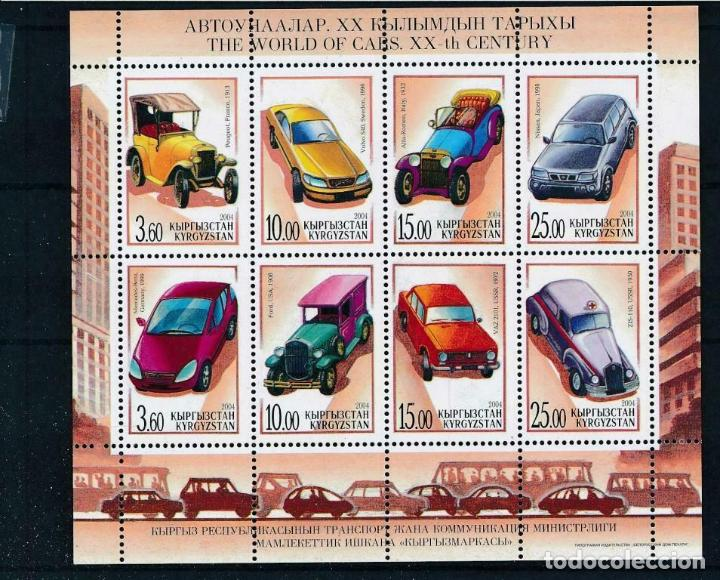 KIRGUISTAN 2004 IVERT 279/86 *** HISTORIA DEL AUTOMÓVIL - COCHES ANTIGUOS (Sellos - Temáticas - Automóviles)