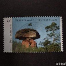 Sellos: ALEMANIA FEDERAL 2014. WILD GERMANY. YT:DE 2881,. Lote 221312472