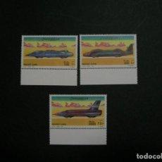 Sellos: /03.12/-SOMALIA-2001-Y&T 761/3 SERIE COMPLETA EN NUEVO(**MNH) A 10%-COCHES DE ALTA VELOCIDAD. Lote 228245125