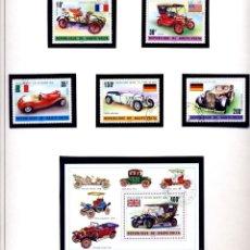 Sellos: ALTO VOLTA: AUTOMOVILES+PERSONAJES 13 VALORES + HB - MALI 2 VALORES - NUEVOS Y MATASELLADOS - FOTOS. Lote 231154575