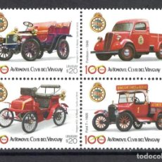 Sellos: UY3601 URUGUAY 2018 MNH 100 YEARS OF THE AUTOMOBILE CLUB DEL URUGUAY. Lote 236771390