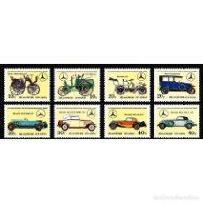 Sellos: 🚩 KOREA 1986 MERCEDES BENZ HISTORY MNH - CARS. Lote 243284320