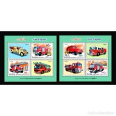 Sellos: 🚩 KOREA 2011 FIRE TRUCKS MNH - CARS, FIREFIGHTERS. Lote 243287385