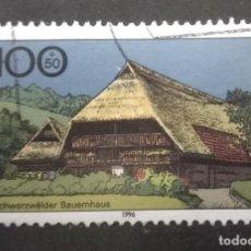 Francobolli: ALEMANIA 1996. FARMHOUSES IN GERMANY 1996. YT:DE 1717,. Lote 245104470
