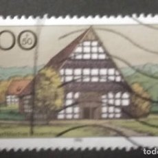 Timbres: ALEMANIA 1996. FARMHOUSES IN GERMANY 1996. YT:DE 1718,. Lote 245105160