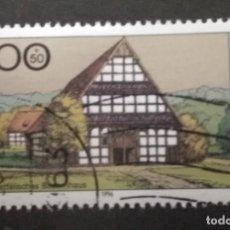 Francobolli: ALEMANIA 1996. FARMHOUSES IN GERMANY 1996. YT:DE 1718,. Lote 245105675