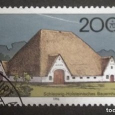 Timbres: ALEMANIA 1996. FARMHOUSES IN GERMANY 1996. YT:DE 1719,. Lote 245106405