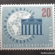 Sellos: ALEMANIA BERLIN 1959. YT:DE-BE 168,. Lote 245215465